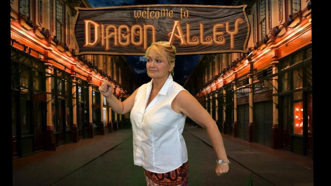Diagon Alley - Claudia