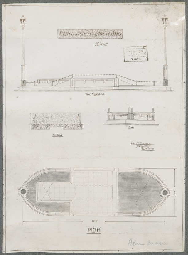 Plan of gun moulding Glen Innes. Digital ID NRS18195_000008