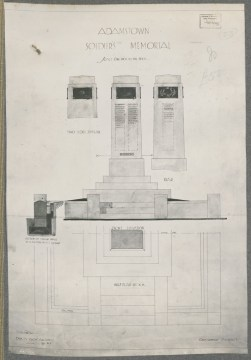 Adamstown Soldiers Memorial. Digital ID NRS18195_0000012a