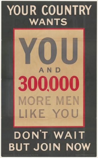 British recruitment poster