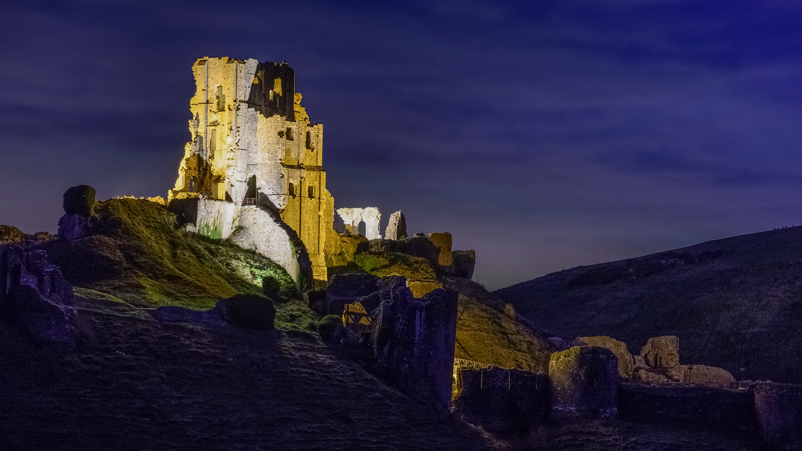 Christmas At Corfe Castle National Trust