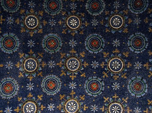Galla Placidia, Ravenna, via http://www.flickr.com/photos/blu_blue/375751913/