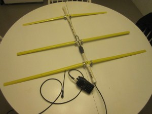3EL Tape Measure Yagi  - COMPLETE