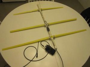 3EL Tape Measure Yagi  - COMPLETE