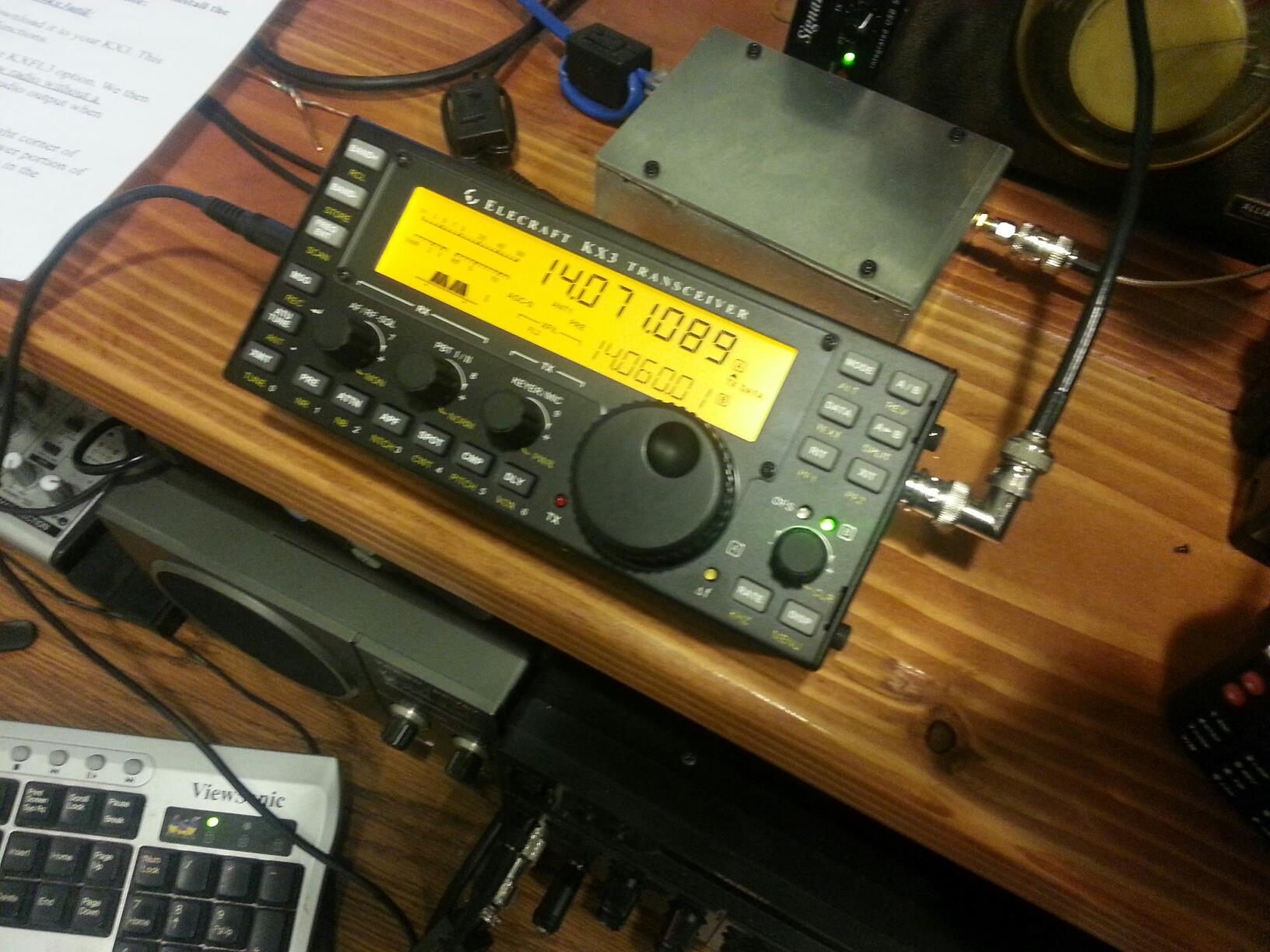 Elecraft KX3 - What Did I Just Do? - NT1K - Welcome