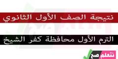 نتيجة الصف الأول الإعدادي الترم الأول محافظة كفر الشيخ
