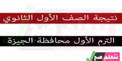 نتيجة الصف الأول الإعدادي الترم الأول برقم الجلوس محافظة الجيزة