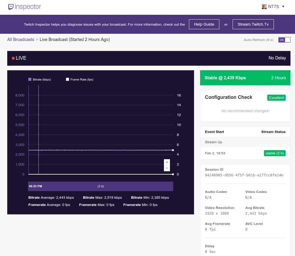 Twitch | Ripples in the Ether