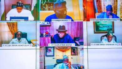 Photo of #EndSARS: Buhari, Gowon, Obasanjo, Jonathan, Others In Crucial Meeting