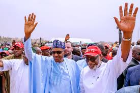 Photo of Buhari Congratulates Akeredolu on re-election as Ondo Governor