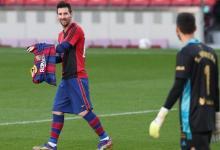 Photo of Messi pays tribute to Maradona in Barcelona win