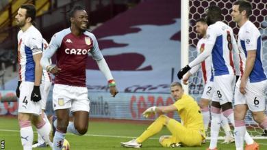 Photo of EPL: Ten – man Villa beat Palace comfortably