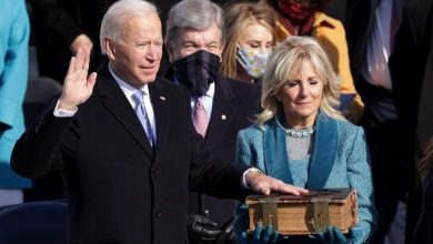 Photo of President Joe Biden, In His Inaugural Speech, Says 'Democracy Has Prevailed'