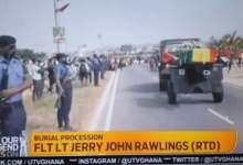 Photo of Ex-Ghanaian President, Jerry Rawlings, Buried With Full Military Honours