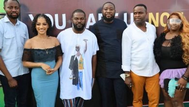 Photo of Dorathy hangs out with Falz, Femi Adebayo