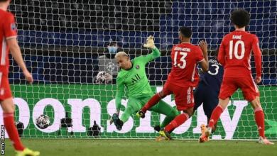 Photo of PSG knock out holders Bayern Munich on away goals