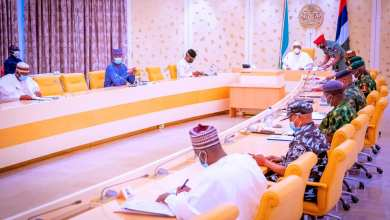 Photo of Insecurity: Buhari Meets Security Chiefs, Others • reassures of victory against criminals
