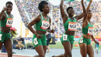 Photo of Nigerian relay team departs Lagos for Olympic qualification in U.S.