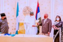 Photo of Buhari Seeks Rotary Club's Support for Vaccination drive