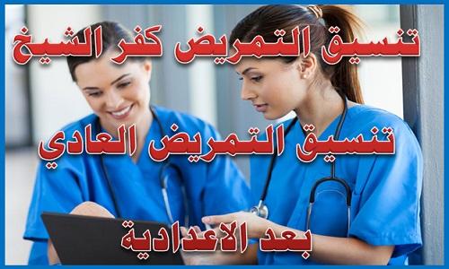 تنسيق التمريض كفر الشيخ