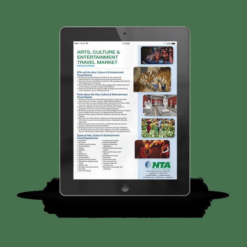 Arts, Culture & Entertainment Travel Market | NTA | Article