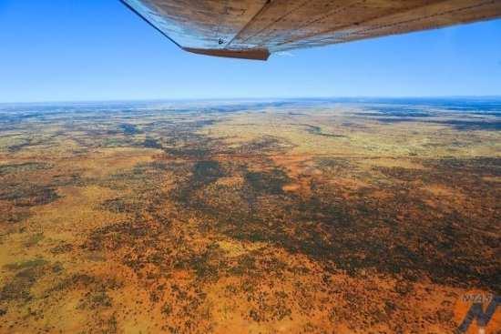 Dalhousie and Mt Dare Flight