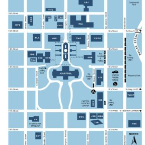 Texas State Capitol Maps And Directory North Texas
