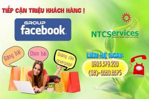 Dịch vụ cho thuê group facebook bán hàng online hiệu quả của NTCServices.
