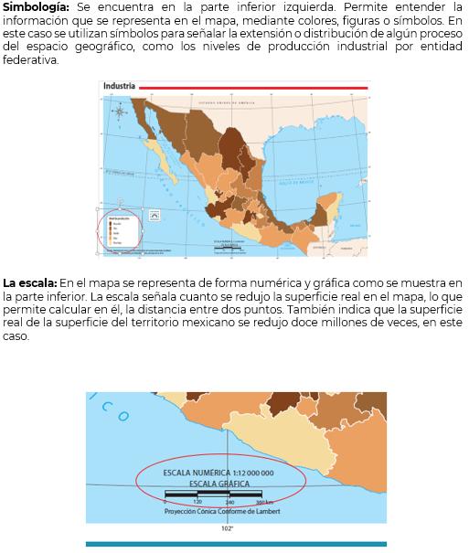 Los Elementos Del Mapa Geografía Cuarto De Primaria Nte Mx Recursos Educativos En Línea