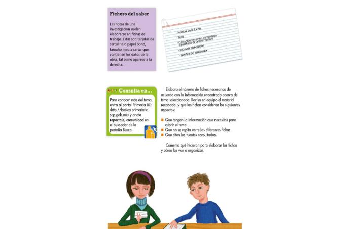 Elaboración De Un Reportaje Lenguaje Sexto De Primaria Nte Mx Recursos Educativos En Línea