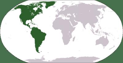 América. Artículo de la Enciclopedia.