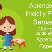 Aprendizajes esperados Semana 20 del 25 al 29 de enero 2021 aprende en casa Inicial y Preescolar