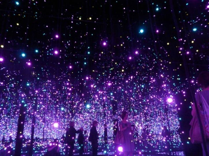 'Infinity Mirrored Room- Filled With the Brilliance of Life' by Yayoi Kusama, Tate Modern
