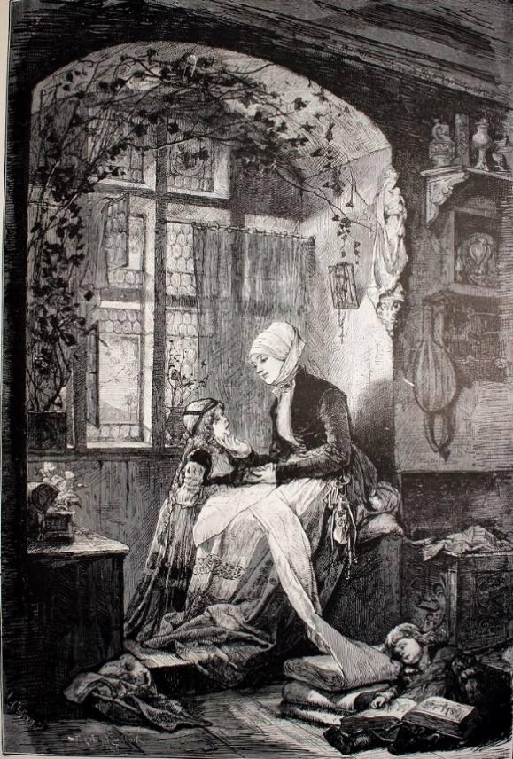 'Escena doméstica de la Edad Media'.