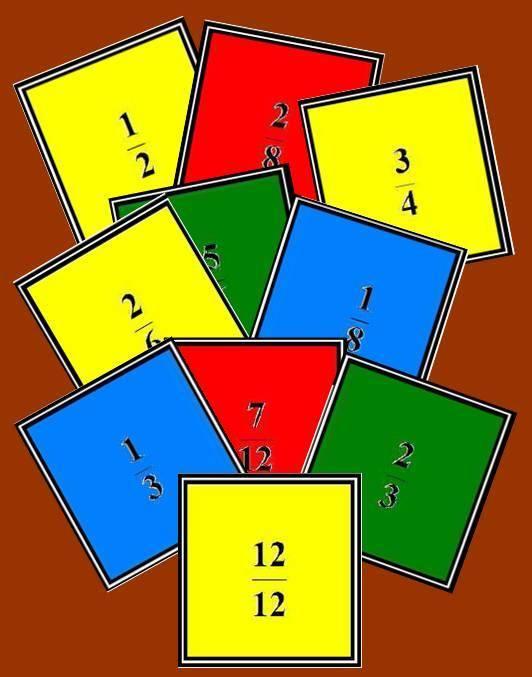 MEMORY DE FRACCIONES | Juegos y matemáticas