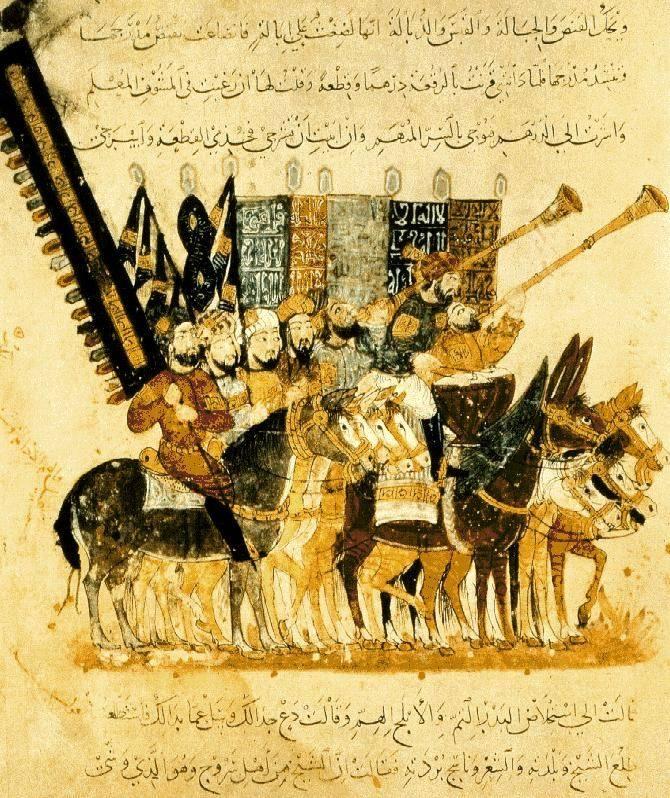 a20-Guerreros árabes a la conquista de España | Libro de artista, Torre de  babel, Miniaturas persas