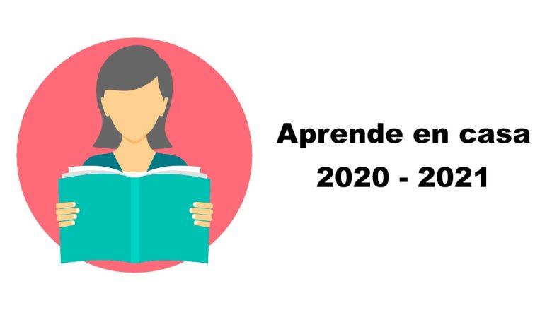 clases y actividades aprende en casa 2020 - 2021