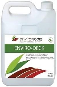 Enviro Floors ENVIRO-DECK OIL COATING