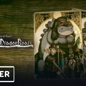 Voice of Cards: The Isle Dragon Roars - Announcement Trailer | Nintendo Direct