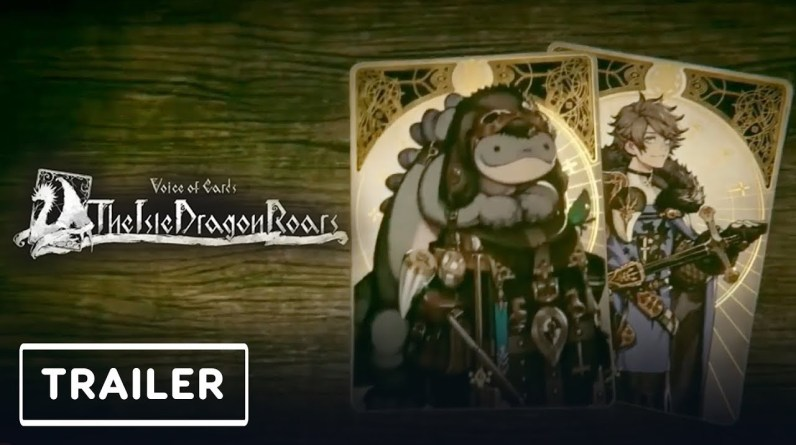 Voice of Cards: The Isle Dragon Roars - Announcement Trailer   Nintendo Direct