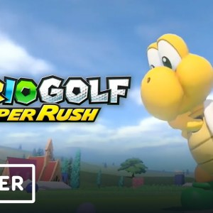 Mario Golf: Super Rush - New Characters and Courses Update Trailer | Nintendo Direct