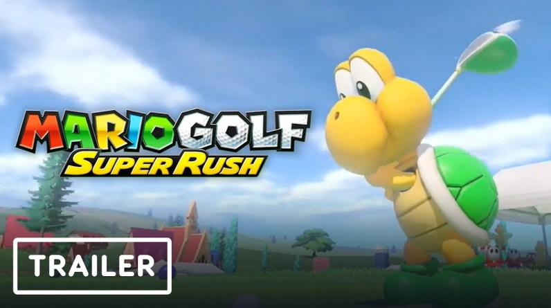 Mario Golf: Super Rush - New Characters and Courses Update Trailer   Nintendo Direct