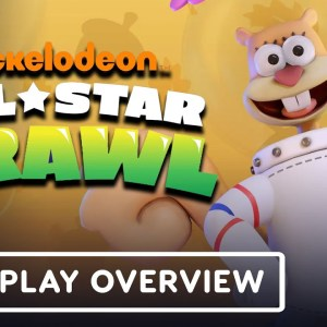 Nickelodeon All-Star Brawl - Official Sandy Cheeks Gameplay Overview