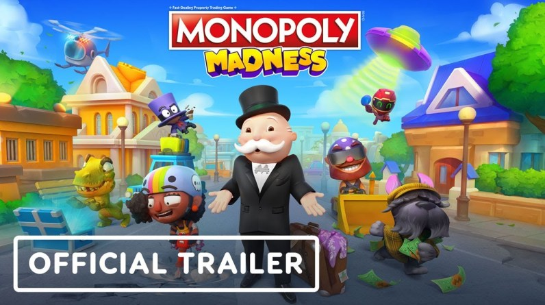 Monopoly Madness - Official Announcement Trailer