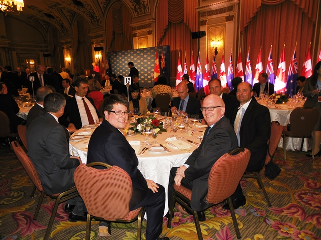 Dinner @ Chateau Laurier Ottawa, Canada
