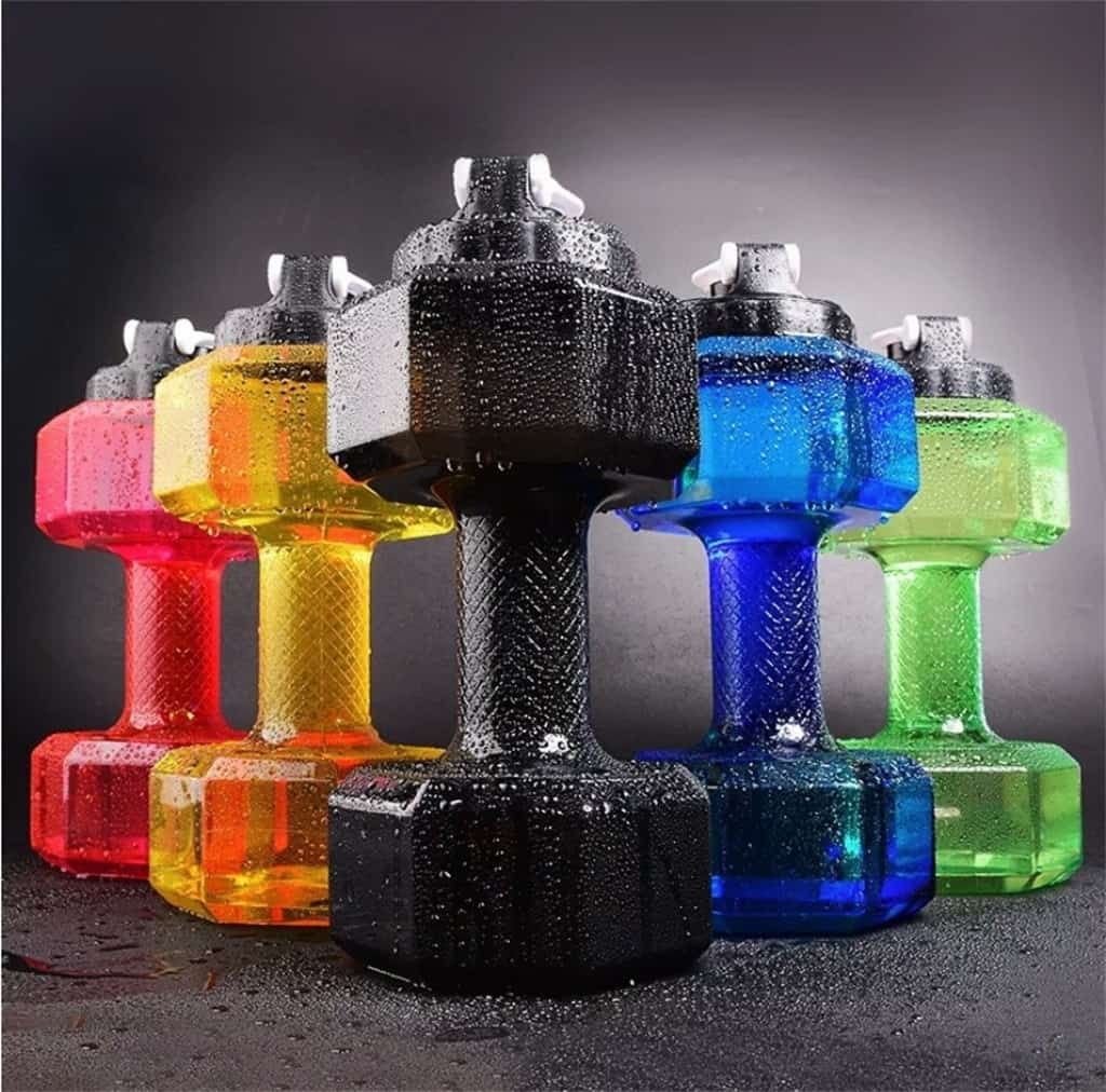 2 6 L Dumbbells Large Water Bottle Free Sports Running Fitness Kettle Gym May 5th