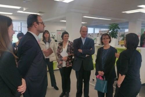 Амбасадор Француске у посети НТП Београд 2