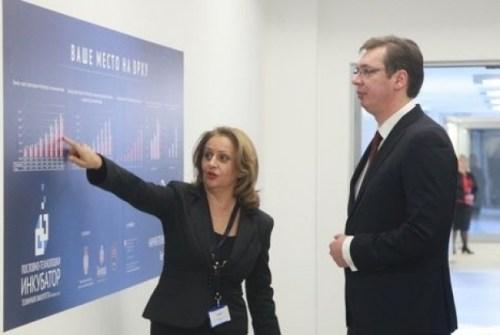 Obeleženo 100 dana rada Vlade u NTP Beograd