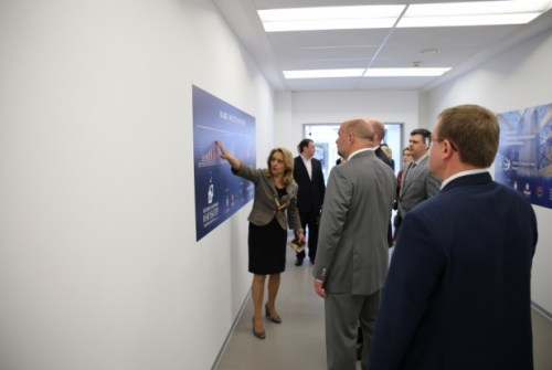 The Governor of Archangelsk district is visiting the STP 6