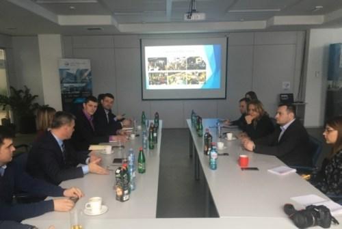 НТП Чачак у посети НТП Београд 2